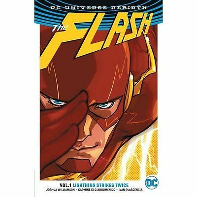 Flash TP Vol 1 (Rebirth) (Dc Universe Rebirth: the Flas - Paperback NEW Josh Wil