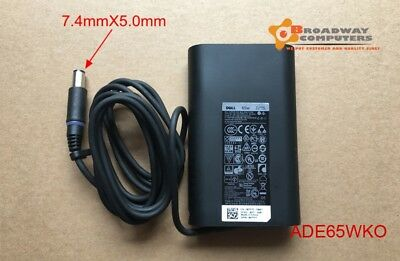 Genuine Dell Latitude 12-5280 13-3380 14-3480 15-3580 AC Adapter Charger 65W