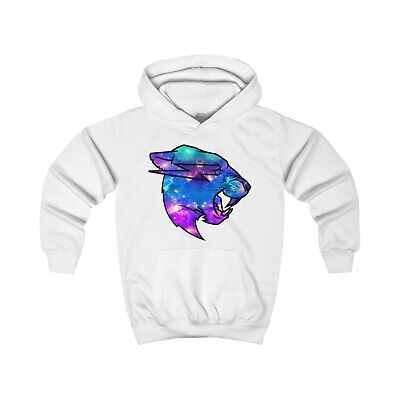 Mr Beast Multicoloured Galaxy Logo Hoodie KIDS Merch Beast Gift 3-12 Years