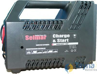 Selmar Guardian Charge & Start Batterij Charger 12V 7A/17A