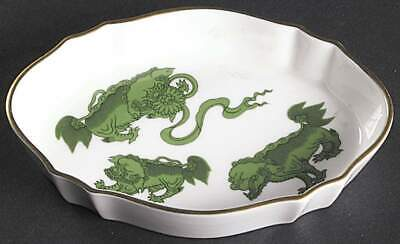 Wedgwood CHINESE TIGERS GREEN Silver Tray 7029012