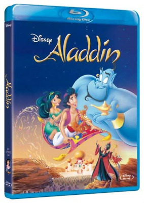 Aladdin (UK IMPORT) Blu-Ray NEW