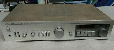Realistic Sta 730 tested a.m. / FM stereo receiver 150w