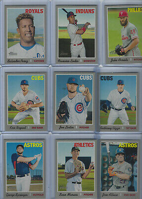 2019 Topps Heritage Short Prints SP Variations - Complete Your Set Free Shipping