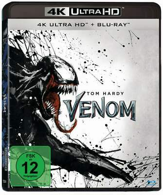 """VENOM"" - Tom Hardy - MARVEL Action Kult - 4K ULTRA HD BLU RAY - 2-Disc-Set neu"