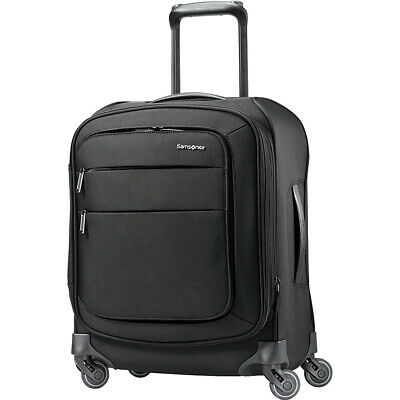 "Samsonite Flexis 19"" Expandable Spinner Carry-On w/USB Softside Carry-On NEW"