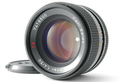 [Mint] Contax Carl Zeiss Planar T* 50mm f/1.4 MMJ for C/Y Mount Free Shipping