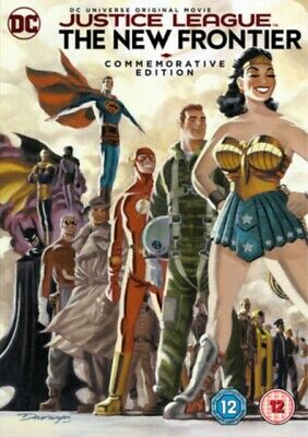 NEW Justice League - The New Frontier Commemorative Edition DVD