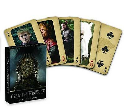 NEW HBO TV Game of Thrones - 52 Playing Cards - Sealed Mint Deck