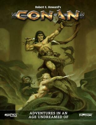 Modiphius Conan RPG Conan - Adventures in an Age Undreamed Of HC MINT