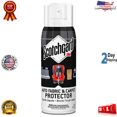 3M 4104D Scotchgard Auto Fabric & Carpet Protector, Made in USA, 10 Once -New US