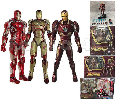 Avengers S.H.Figuarts SHF IRON MAN 3 MARK 42 MK42 MK43 Action Figure Model KO