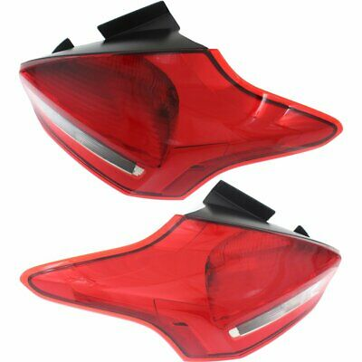 FO2800245, FO2801245 Right+Left Side New Tail Lights Lamps Set of 2 LH & RH Pair