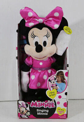 Disney Junior Minnie Mouse Clubhouse Singing 12 inch for Kids Age 3+