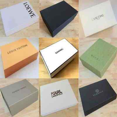 Designer Branded Gucci Max Mara LV Gift Present Storage Chest Folder Empty Box