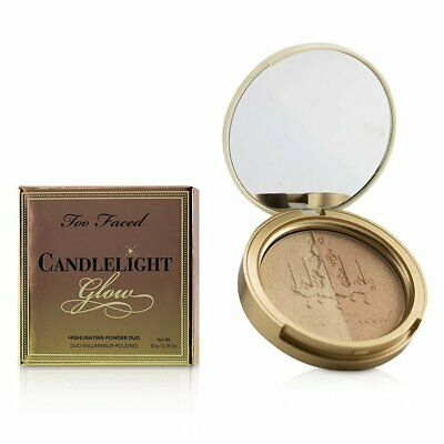 Too Faced Candlelight Glow Highlighting Powder Duo - # Warm Glow 10g Bronzer