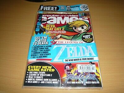 ****Computer And Video Games Magazine Issue 256 February 2003****