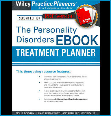 The Personality Disorders Treatment Planner: Includes DSM-5 Updates (ebook_pdf)