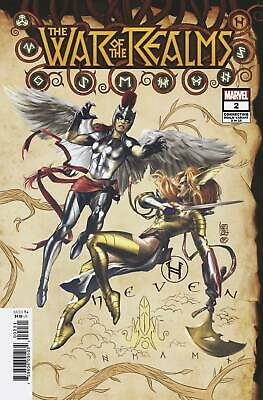 War of Realms 2 (of 6) Connecting Realm Variant (Giuseppe Camuncoli) - Marvel (U