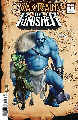 War of Realms Punisher 1 (of 3) Connecting Realm Variant (Giuseppe Camuncoli) -