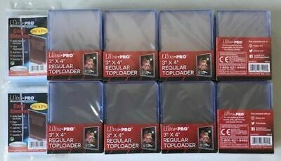 200 Ultra Pro Regular 3 x 4 Toploaders top loaders + 200 Penny Sleeves NEW