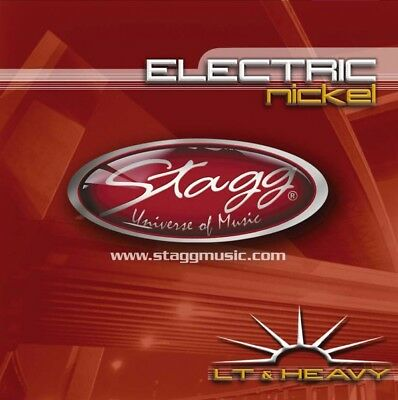 3 Sets of Stagg Electric Guitar Strings Light & Heavy 10-52 (EL-1052)