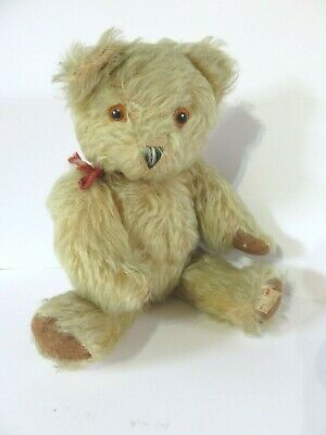 Antique Vintage Irish Mohair Teddy Bear Republic Of Ireland 11""