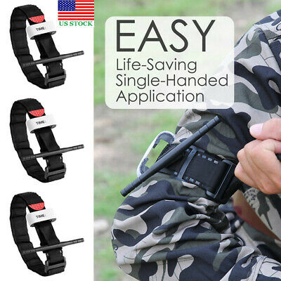 3pcs One Hand CAT Tourniquet Hunting Tactical Emergency Medical Combat First Aid
