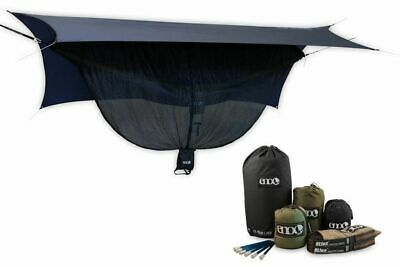Eagles Nest Outfitters Eno Onelink Doubledeluxe Hamaca Caqui / Oliva - Gris