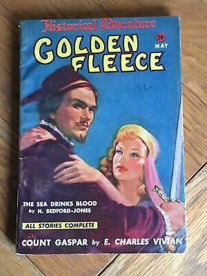 Golden Fleece - US pulp - May 1939 No.8 H. Bedford-Jones, E. Charles Vivian etc
