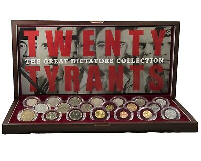 20 Tyrants: The Great Dictators Collection, Hitler,Stalin,Mussolini,Franco, etc.