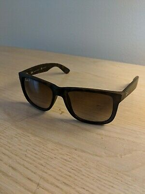 d33d567732 Ray-Ban Justin Rb4165 865 t5 54 Tortoise Frame With Brown Polarized  Sunglasses
