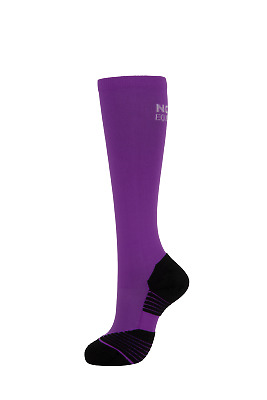 Noble Equestrian Perfect Fit Performance Boot Socks Over the Calf Purple