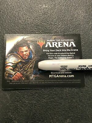 EMAIL MTG Magic The Gathering Arena Gideon War Of The Spark Code Planeswalker