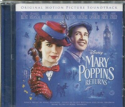 Mary Poppins Returns - Original Motion Picture Soundtrack - Cd
