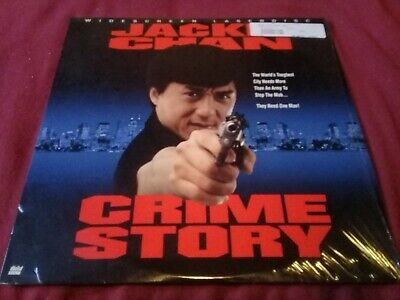Laser Disc Crime Story  (Comme Neuf)