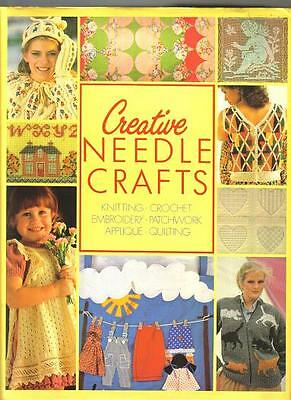 CREATIVE  NEEDLE CRAFT From retro period  SEE  ITEMS   415pp large book