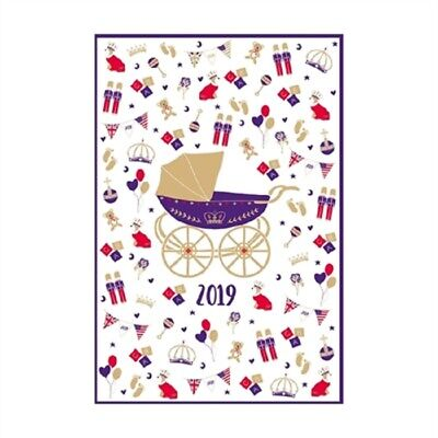 Royal Baby Cotton Tea Towel to Celebrate Birth of Harry & Meghan's Baby Archie
