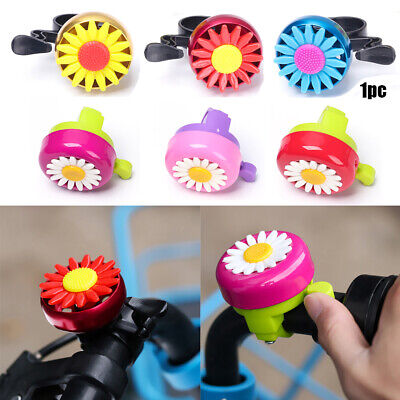 Cycling Bicycle Handlebar Safety Bike Bell Horn Sound Alarm Alloy Plastics Rings