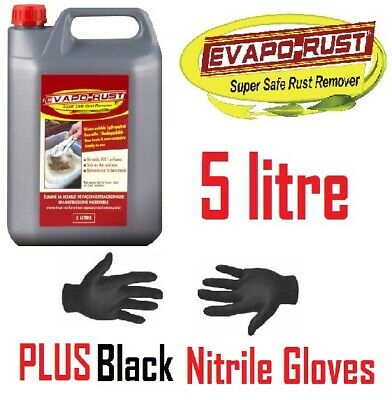 Evapo-Rust - 5L Rust Remover Liquid Solution Removes Metal Oxides Water Soluble
