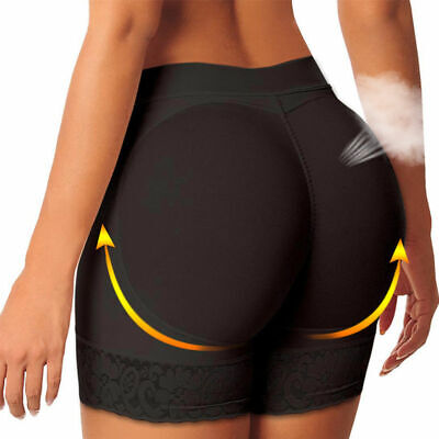 Women Body Shaper Padded Butt Lifter Panties Hip Enhancer Booty Underwear Briefs