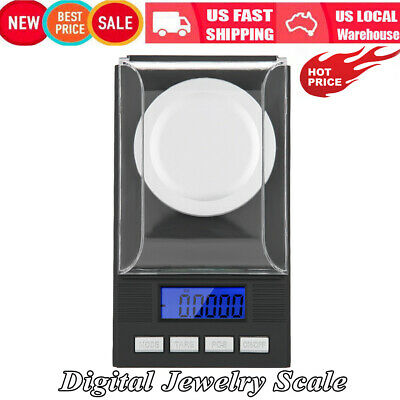 Mini Portable High Precision 0.001g Pocket Jewelry Scale w/ LED Digital Display