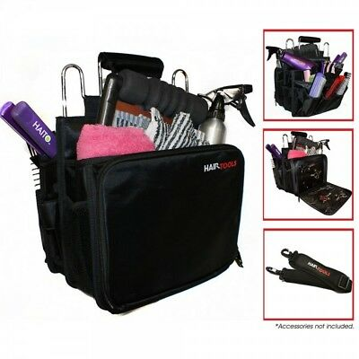 Hair Tools Professional Hairdressing Session Bag  Black