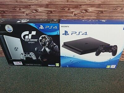 Sony Playstation 4 500GB/ 1TB Konsole (versch. Versionen, Slim) schwarz