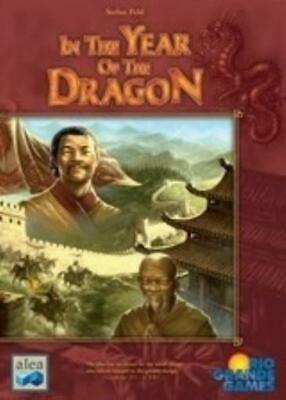 Rio Grande Boardgame In the Year of the Dragon Box VG+