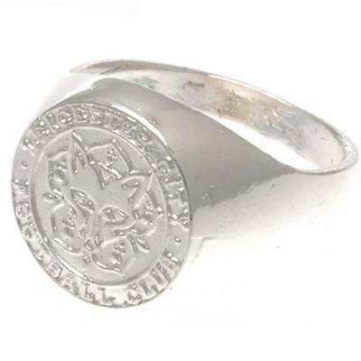 Leicester City FC Silver Plated Crest Ring (TA1743)