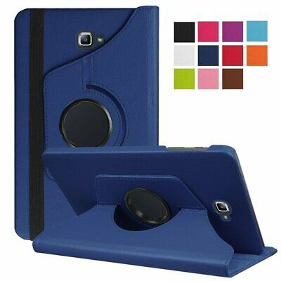 360 Rotating Case For Samsung Galaxy Tab A T580 T585 10.1 Flip PU Leather Stand