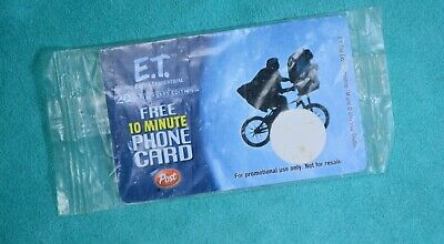 ET phone Card from post - unused & sealed - from 2003