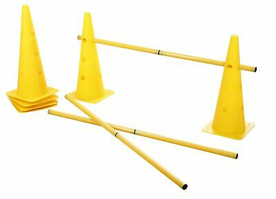 Kerbl Cone Three Agility Hurdle Set Giallo (V88)