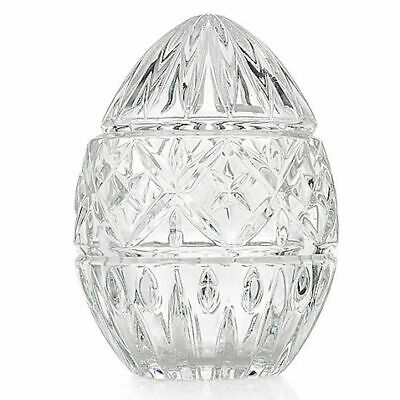 "Marquis by Waterford 2-Piece 5.5"" Crystal Egg Box - Clear"